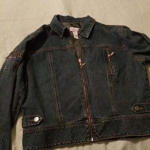 American Girl denim jacket